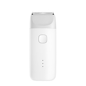Xiaomi Mitu Baby Hair Cutter Electric Rechargeable Quiet Trimmer Hair Clipper Baby Hair Care Cutting Remover Kids Infant - White