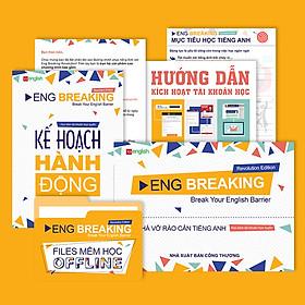 Tự Học Tiếng Anh Giao Tiếp Chỉ Trong 3 Tháng - Eng Breaking (Kèm File mềm Học Offline Và Tài Khoản Học Online)