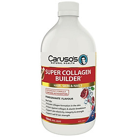 Carusos Natural Health Super Collagen Builder 500ml