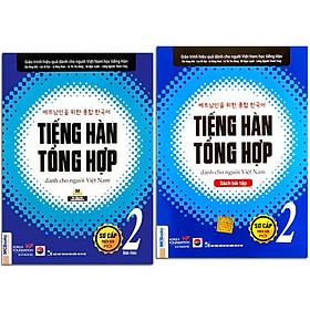 Sách - Combo Tiếng Hàn Tổng Hợp Dành Cho Người Việt Nam - Sơ Cấp 2 Phiên Bản Mới (4 Màu) + Bài Tập (Combo, lẻ tùy chọn)