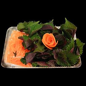 [Chỉ giao HN] - Set Rau Ăn Kèm Sashimi - 1 Hộp
