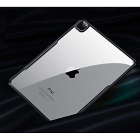 Ốp lưng iPad Pro 12.9 2020 XUNDD, Chống shock, Mặt lưng trong suốt, Viền TPU