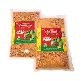 Hình đại diện sản phẩm Combo 2 bịch muối ớt Tây Ninh