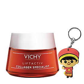 Kem dưỡng collagen Vichy LiftActiv Collagen (50mL | tặng móc khoá)