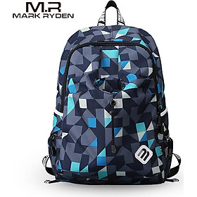 MARK RYDEN Portable Waterproof Multi-Function Outdoor Sport Laptop Men Backpack Leisure Students Schoolbag USB Charge