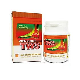 VIÊN GOUT TW3 Giải pháp toàn diện cho người bị Gout