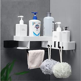 Kệ để đồ nhà tắm xoay 180 2 tầng sang trọng siêu chắc chắn, tiện dụng GD236-KNTXoay