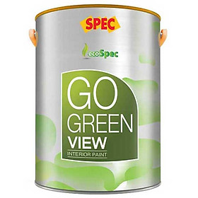 Sơn phủ nội thất siêu hạng Spec Go Green Breezy 1L màu 004