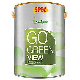 Sơn phủ ngoại thất bảo vệ tối đa Spec Go Green Pano 18L màu 003
