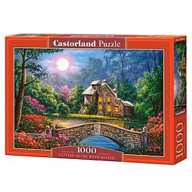 Xếp hình puzzle Cottage in the Moon Garden 1000 mảnh Castorland C104208