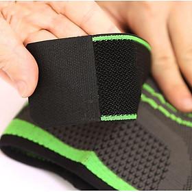 Băng đai bảo vệ giảm áp lực lên xương đầu gối khi tập Gym AK_24-5