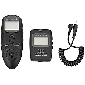 JJC WT-868 + CABLE-M multi-function wireless timer cable remote control multi-group exposure control (for Nikon D5500 D7200 D750 alternative MC-DC2)