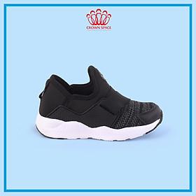 Giày Thể Thao Bé Trai Bé Gái Đi Học Siêu Nhẹ Crown Space UK Sport Shoes CRUK8024 Cho Trẻ em Cao Cấp Êm Thoáng Size 28-35/4-14 Tuổi