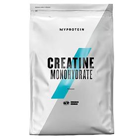 Thực phẩm bổ sung hỗ trợ tăng năng lượng và sức mạnh Myprotein Creatine Monohydrate Không mùi túi 500g (166 lần dùng)