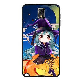 Hình đại diện sản phẩm Ốp lưng Halloween viền TPU cho điện thoại Samsung Galaxy Note 3 - Mẫu 04