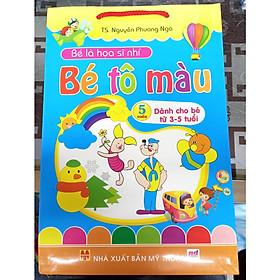 Bé là họa sĩ nhí Bé tô màu - túi 5 cuốn (dành cho bé 3-5 tuổi)