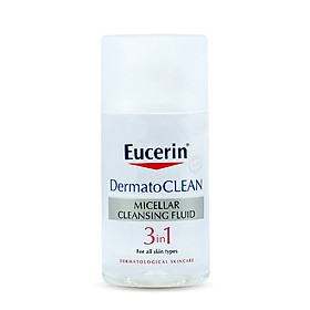 Nước Tẩy Trang Eucerin DermatoCLEAN Micellar Cleansing Fluid 3 in 1 (125 ml)