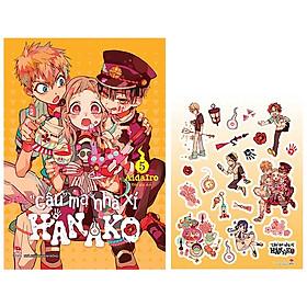 """""""Cậu"""" Ma Nhà Xí Hanako - Tập 5 - Tặng Kèm Sticker"""