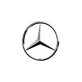 Logo biểu tượng sau xe ô tô Mercedes cao cấp M9
