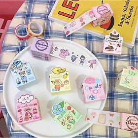 Băng giấy Qixi Sticker cắt dán nguồn hàng giá rẻ