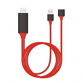 Cáp Lightning Kết Nối Trực Tiếp Điện Thoại Với Tivi Qua Cổng HDMI