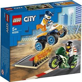 Đồ Chơi Lắp Ráp Lego City Biểu Diễn Nhào Lộn 60255 (62 Chi Tiết)