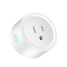 Smart Power Plug Measuring Socket Safety 100-240V WIFI Graffiti Program Voice Control