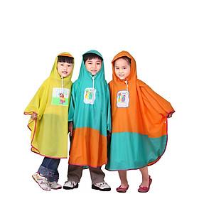 Áo mưa cánh bướm trẻ em Rando Poncho dành cho các bé có độ tuổi từ (2 tuổi đến 12 tuổi) tương đương với các size từ số 1 đến số 5 ( GIAO MÀU NGÂU NHIÊN)