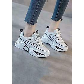 Giày Sneaker Nữ Cao 5 Phân