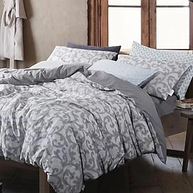 Hình đại diện sản phẩm Bộ drap giường 4 món 100% cotton USA