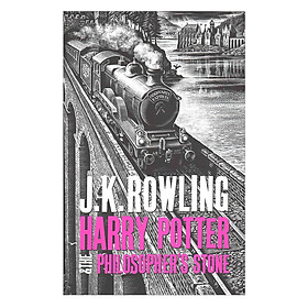 Harry Potter Part 1: Harry Potter And The Philosopher's Stone (Hardback) (Harry Potter và hòn đá phù thủy) (English Book)