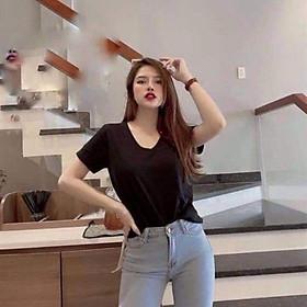 ( ĐƠN 50K) ÁO phông GAP  nữ siêu rẻ, chất cotton,đủ màu đỏ, xanh, vàng,trắng,đen phù hợp mọi lứa tuổi đủ size