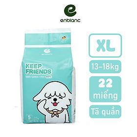 Tã/Bỉm quần bé trai Enblanc Keep Friends nội địa Hàn quốc (mẫu mới 2020) size L/XL/XXL