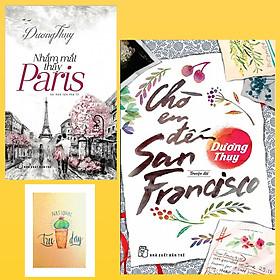 Combo Chờ Em Đến San Francisco và Nhắm Mắt Thấy Paris ( Tặng Kèm Sổ Tay Xương Rồng)