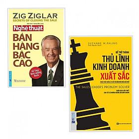 Combo 2 Cuốn Kỹ Năng Làm Việc: Để Trở Thành Thủ Lĩnh Kinh Doanh Xuất Sắc + Nghệ Thuật Bán Hàng Bậc Cao  (Tặng Bookmark Happy Life)