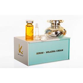 Kem mờ nám tàn nhang trắng da - 1 Hộp Serum Melasma Kay Beauty