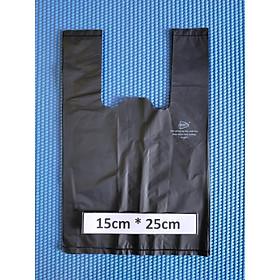1 Kí Bao Ni Lông Tự Hủy Sinh Học - Kiều Gia - Màu ĐEN- 8 Size / 1 Kilograms Of Bio-degradable Shopping Bags - KieuGia - Color BLACK- 8 Sizes