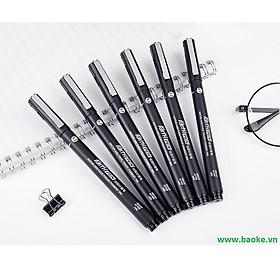 Bút nước vẽ kỹ thuật 0.2mm - BK400 đen