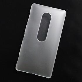 Ốp lưng dành cho Sony Xperia XZ2 Premium nhựa cứng nhám trong