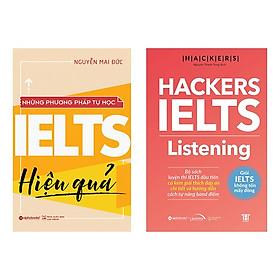 Combo Sách: Những Phương Pháp Học Ielts Hiệu Quả + Hackers IELTS Listening