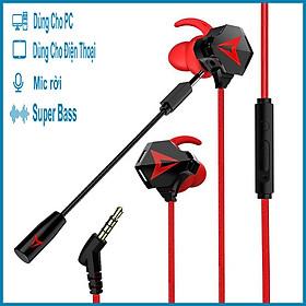 Tai nghe gaming có mic G901 dùng được cho điện thoại và máy tính + Tặng đế xem phim cho điện thoại