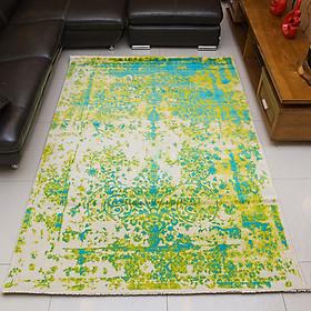Thảm Trang Trí cao cấp nhập khẩu Đức MAYA 484 GREEN BLUE