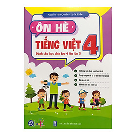 Ôn hè Tiếng Việt 4