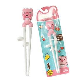Đồ dụng ăn dặm cho bé MADE IN KOREA - Đũa tập gắp tập ăn cho bé, tập ăn xỏ ngón bằng nhựa nhãn hiệu Edison - BPA FREE - tặng đồ chơi tắm 2 món