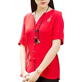 Áo Kiểu Nữ An Thủy TN658 - Đỏ