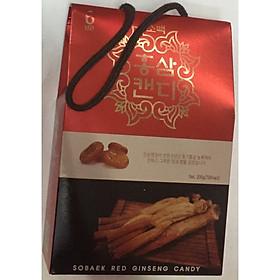 Kẹo Hồng Sâm Sobaek Candy Ginseng Hộp 200g Hàn Quốc, thơm ngon, tăng cường sức khỏe, kẹo sâm hàn quốc