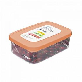 Bộ 6 hộp nhựa đựng thực phẩm tròn Inochi (500-750-1000-1500-2000-2500ml)