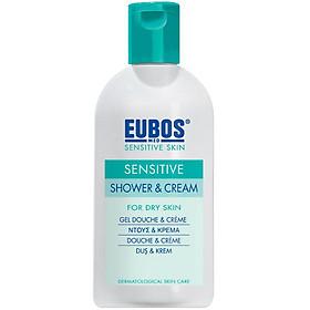 Sữa tắm cho da nhạy cảm EUBOS Sensitive Shower & Cream (200ml)