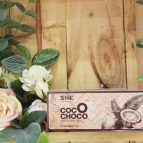 Socola bột dừa Coco Choco