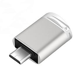 Đầu đọc thẻ nhớ micro SD dành cho điện thoại, thiết bị sử dụng cổng TYPE-C chất liệu hợp kim sơn tĩnh điện cao cấp, có đèn báo truyền tải dữ liệu
